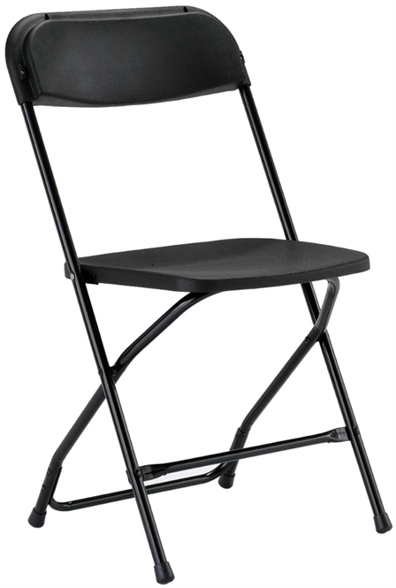 Black Free Shipping Illinois Plastic Folding Chair New York City Cheap Plas