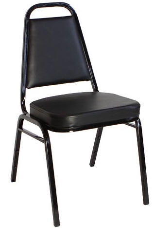 Remarkable Black Vinyl 2 5 Cushion Back Banquet Chair Evergreenethics Interior Chair Design Evergreenethicsorg