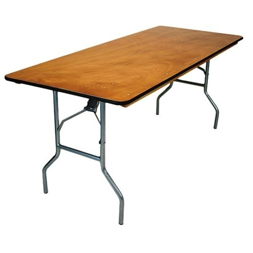 wood folding table los angeles 30 x 96 plywood folding table miami banquet 31066